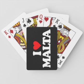 AMO MALTA BARAJA DE CARTAS