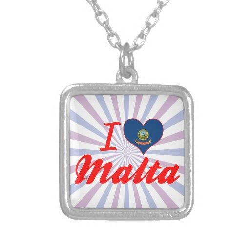 Amo Malta, Idaho Collares Personalizados