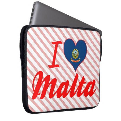 Amo Malta, Idaho Funda Portátil