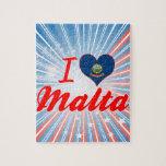 Amo Malta, Idaho Puzzle Con Fotos
