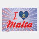 Amo Malta, Idaho Toallas De Cocina