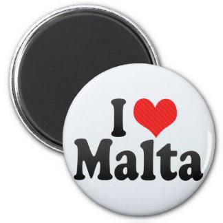 Amo Malta Imán Redondo 5 Cm