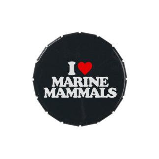 AMO MAMÍFEROS MARINOS LATAS DE DULCES