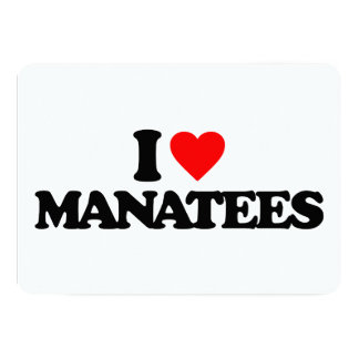 AMO MANATEES INVITACION PERSONALIZADA