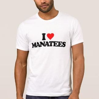AMO MANATEES CAMISETAS