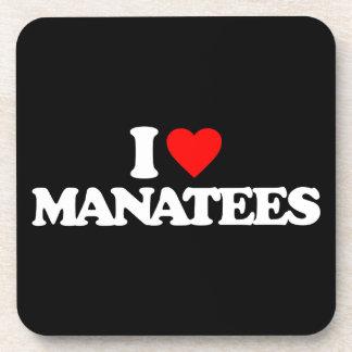 AMO MANATEES POSAVASOS