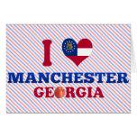 Amo Manchester, Georgia Felicitacion