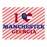 Amo Manchester, Georgia Postales