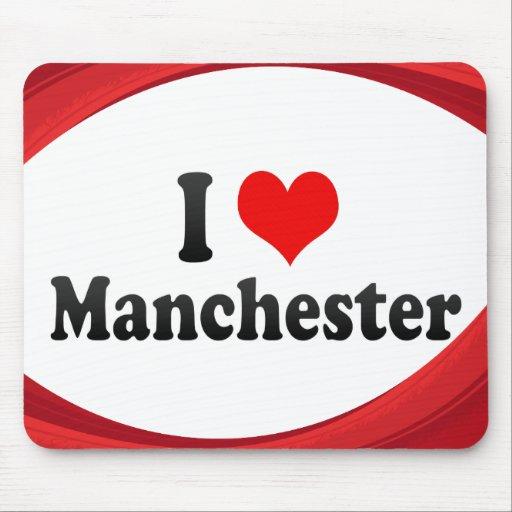 Amo Manchester, Reino Unido Mouse Pad