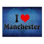 Amo Manchester, Reino Unido Postales