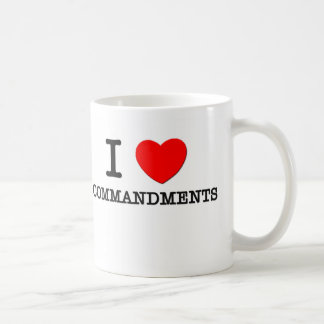 Amo mandamientos taza