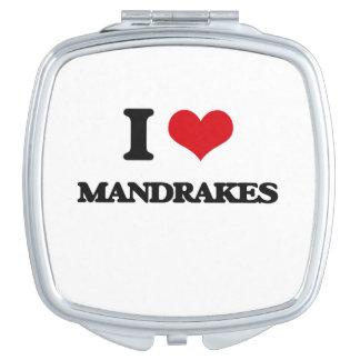Amo Mandrakes Espejos De Maquillaje