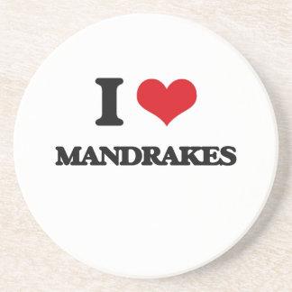 Amo Mandrakes Posavasos Personalizados