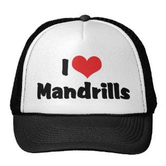 Amo Mandrills Gorras De Camionero