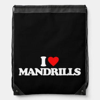 AMO MANDRILLS MOCHILAS