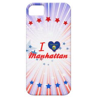 Amo Manhattan, Montana iPhone 5 Case-Mate Cárcasas