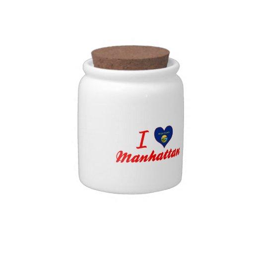 Amo Manhattan, Montana Plato Para Caramelo