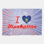 Amo Manhattan, Montana Toalla De Cocina