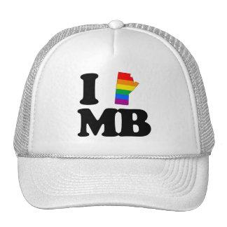 AMO MANITOBA GAY - .PNG GORRO