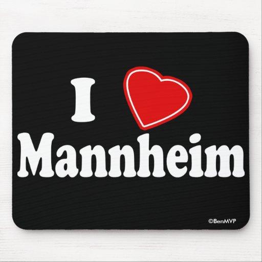 Amo Mannheim Alfombrillas De Raton