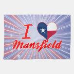 Amo Mansfield, Tejas Toallas De Cocina