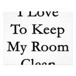 Amo mantener mi sitio limpio anuncio