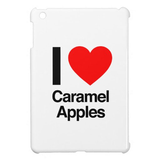 amo manzanas de caramelo