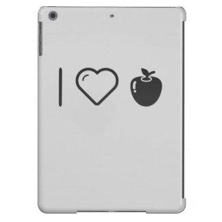 Amo manzanas orgánicas funda para iPad air