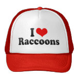Amo mapaches gorra