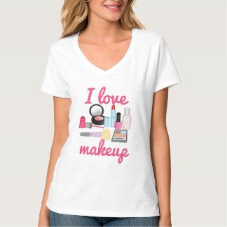 Amo maquillaje playera