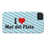 Amo Mar del Plata, la Argentina iPhone 4 Case-Mate Coberturas