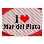 Amo Mar del Plata, la Argentina Tarjeta