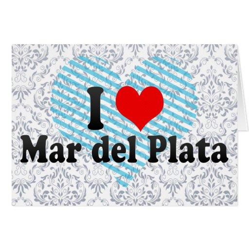 Amo Mar del Plata, la Argentina Tarjetón