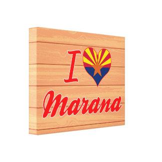 Amo Marana, Arizona Impresión En Lona