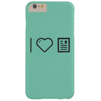 Amo marcos del diploma funda para iPhone 6 plus barely there