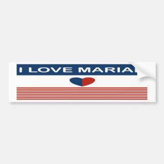 Amo Mariah Pegatina Para Auto
