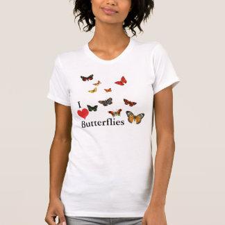 Amo mariposas playera