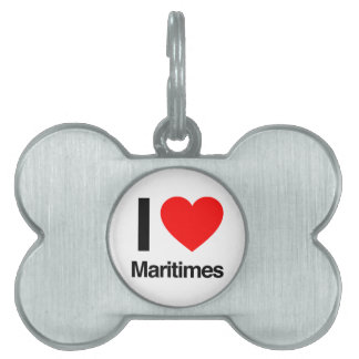 amo maritimes placas de nombre de mascota