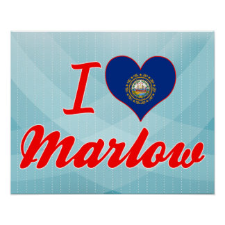 Amo Marlow New Hampshire Poster