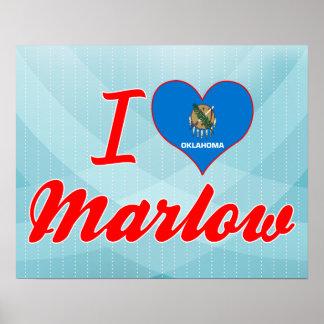 Amo Marlow Oklahoma Poster