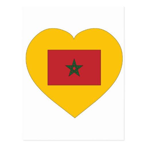 Amo Marruecos Postal