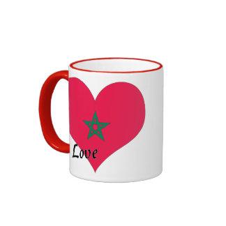 Amo Marruecos Taza De Dos Colores