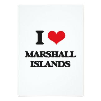 Amo Marshall Islands Invitación Personalizada