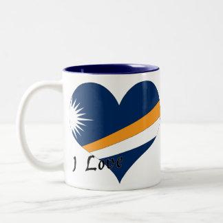 Amo Marshall Islands Taza De Dos Tonos