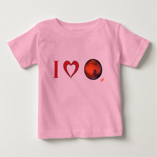 Amo Marte -- Camiseta infantil - PK. Bl. Pesos GR. Polera