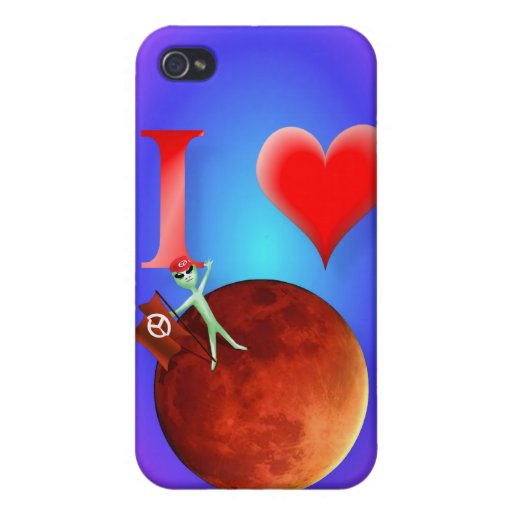 Amo Marte iPhone 4 Cobertura