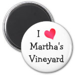 Amo Martha's Vineyard Imán De Frigorífico