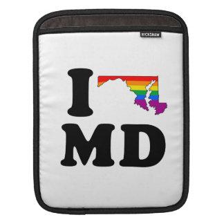AMO MARYLAND GAY FUNDAS PARA iPads