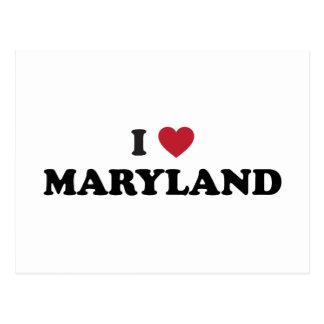 Amo Maryland Postales