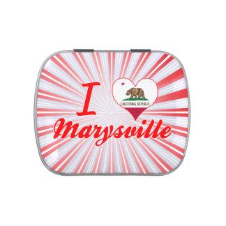 Amo Marysville, California Jarrones De Caramelos